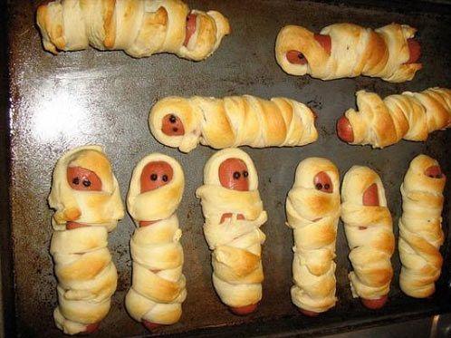 cách làm bánh mì xác ướp Ai Cập 3 cách làm bánh mì xác ướp ai cập Rùng rợn với bánh mì xác ướp Ai Cập cho ngày lễ Halloween cach lam banh mi xac uop ai cap cho ngay le halloween 4