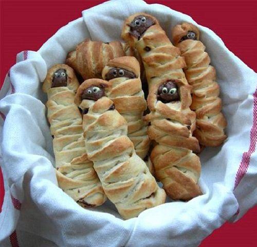 cách làm bánh mì xác ướp Ai Cập 8 cách làm bánh mì xác ướp ai cập Rùng rợn với bánh mì xác ướp Ai Cập cho ngày lễ Halloween cach lam banh mi xac uop ai cap cho ngay le halloween 8