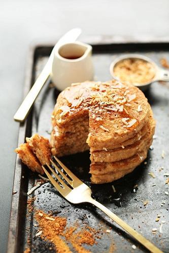 cách làm pancake dừa 1 cách làm pancake dừa Cách làm pancake dừa ngon đến mê mẩn siêu dễ cach lam pancake dua ngon den me man sieu de 1