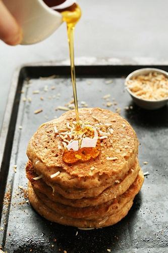 cách làm pancake dừa 2