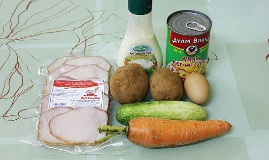 cách làm salad khoai tây kiểu Nhật 8