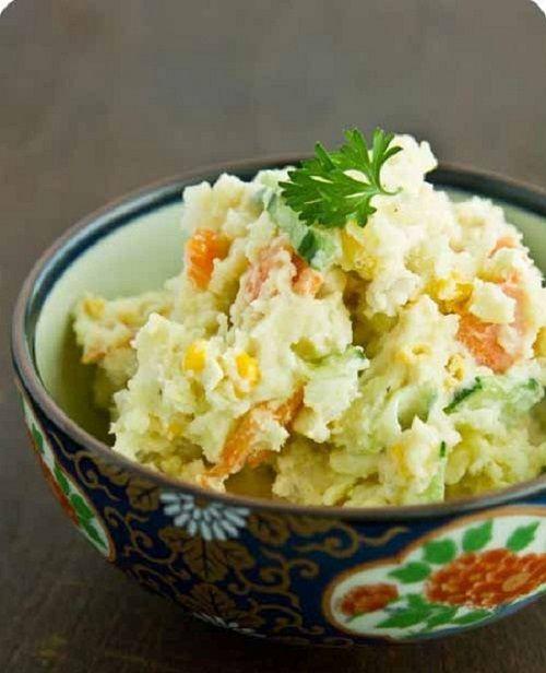 cách làm salad khoai tây kiểu Nhật 5