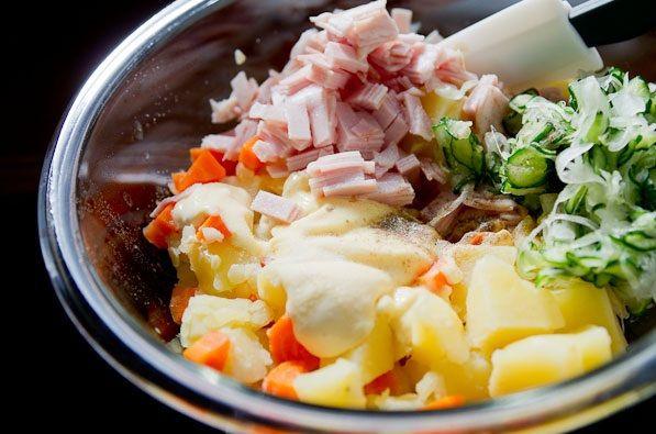 cách làm salad khoai tây kiểu Nhật 1