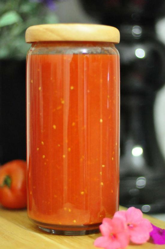 cách làm tương cà chua 7