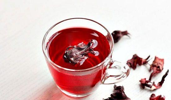 cách pha trà hibiccus 3