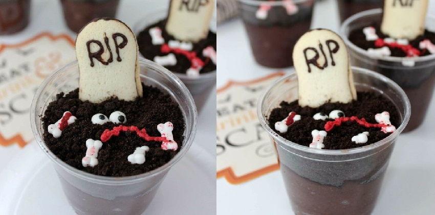 cách làm bánh pudding nghĩa địa 7 cách làm bánh pudding nghĩa địa Rùng rợn với món bánh nghĩa địa cho ngày Halloween rung ron voi mon banh nghia dia cho ngay halloween 6