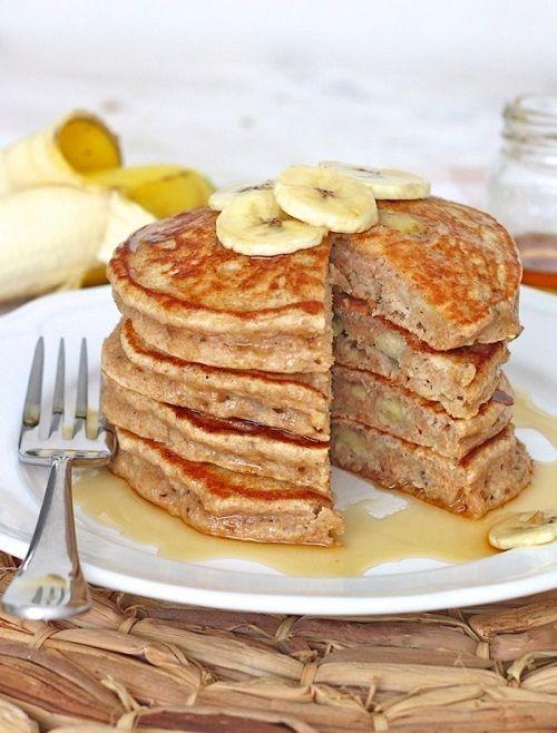 cách bánh pancake mà không cần bơ và bột mì 5