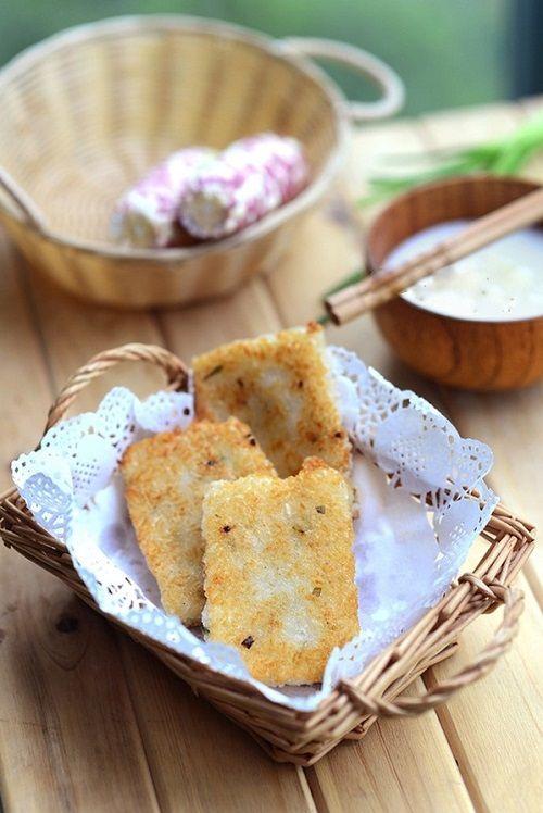 cách làm bánh gạo chiên 5 cách làm bánh gạo chiên Bánh gạo chiên cực ngon cho bữa sáng tràn đầy năng lượng cach lam banh gao chien cuc ngon cho bua sang nang luong 6