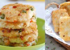 cách làm bánh gạo chiên 8