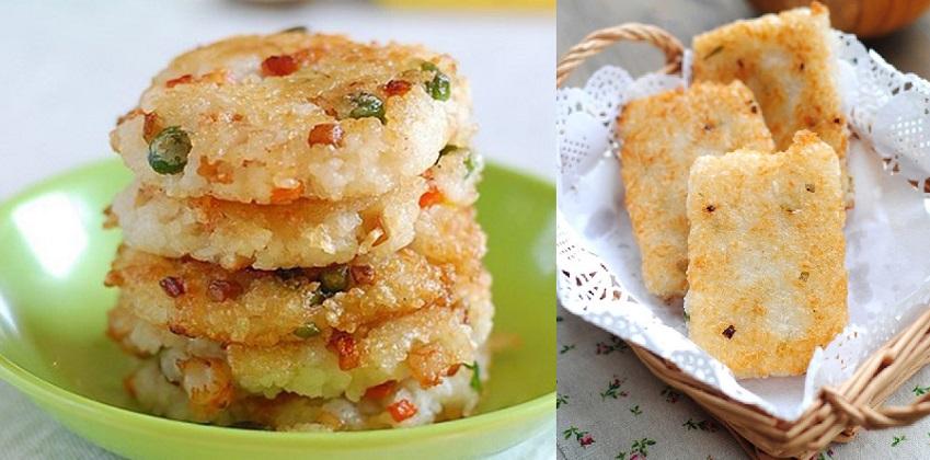 cách làm bánh gạo chiên 8 cách làm bánh gạo chiên Bánh gạo chiên cực ngon cho bữa sáng tràn đầy năng lượng cach lam banh gao chien cuc ngon cho bua sang nang luong 9
