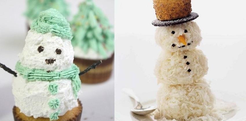 cách làm bánh người tuyết 4 cách làm bánh người tuyết Giáng sinh vào bếp làm bánh kem dừa người tuyết cực độc đáo cach lam banh nguoi tuyet bang kem vani phu com dua 4