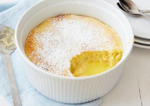 cách làm bánh pudding chanh tươi 1