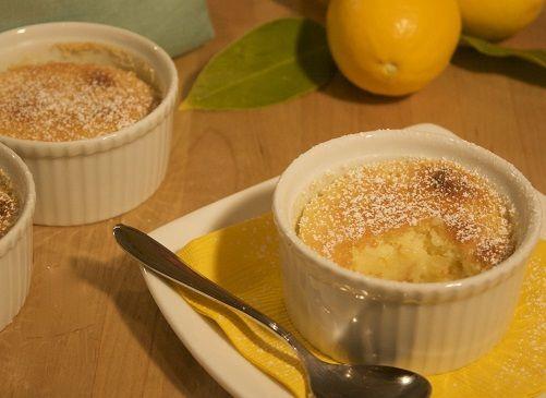 cách làm bánh pudding chanh tươi 4