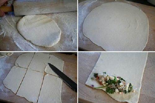 Cách làm pizza que 2