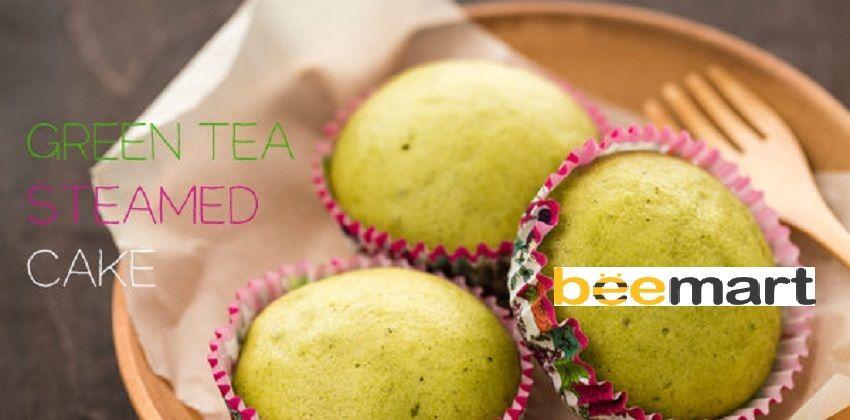 bánh trà xanh hấp 5