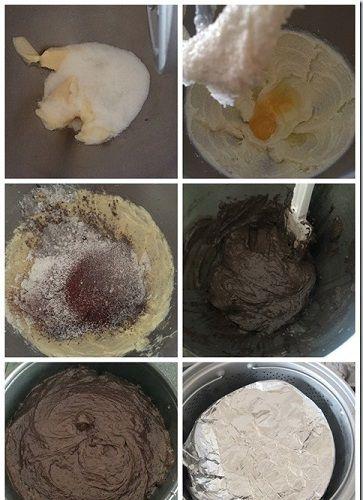 cách làm bánh brownie phô mai 2