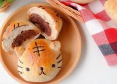 cách làm bánh mỳ nhân milo 7