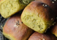 cách làm bánh mỳ trà xanh 5
