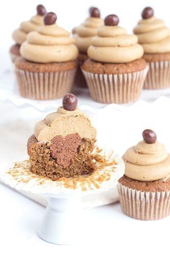 cách làm cupcake cà phê 4