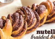 cách làm bánh mỳ nutella 5