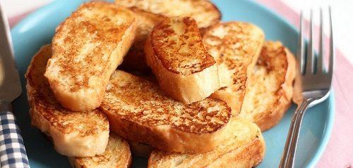 công thức bánh mỳ chiên trứng sữa 1 công thức bánh mỳ chiên trứng sữa Tận dụng bánh mỳ thừa với công thức bánh mỳ chiên trứng sữa siêu dễ tan dung banh my thua voi cong thuc banh my chien trung sua sieu de 1