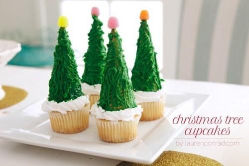 cách làm bánh cupcake cây thông noel 6 cách làm bánh cupcake cây thông noel Giáng sinh lấp lánh với bánh cupcake cây thông Noel siêu đáng yêu cach lam banh cupcake cay thong noel lung linh sac mau 8 e1482417189943