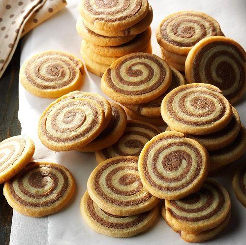 cách làm bánh Pinwheel Cookies 9