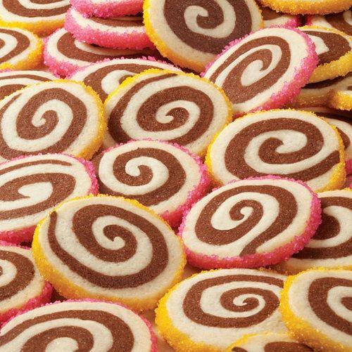 cách làm bánh Pinwheel Cookies 6