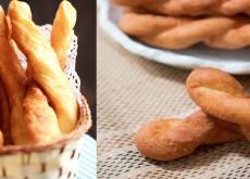 cách làm bánh vặn thừng phủ bột quế 1