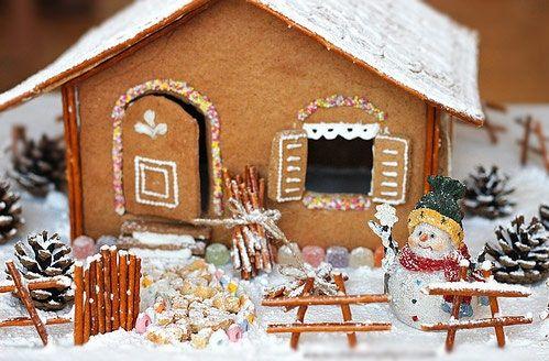 Bánh nhà gừng lung linh tuyệt đẹp cho bé chào đón Giáng sinh