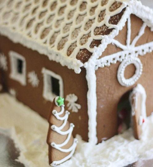 cách làm ngôi nhà bánh gừng 7 cách làm ngôi nhà bánh gừng Bánh nhà gừng lung linh tuyệt đẹp cho bé chào đón Giáng sinh cach lam ngoi nha banh gung xinh yeu cho danh tang be 8