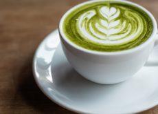 cách pha latte trà xanh 2