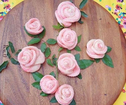 cách làm bánh bao hoa hồng 1 cách làm bánh bao hoa hồng Đẹp mê mẩn với cách làm bánh bao hoa hồng siêu xinh đón Tết dep me man voi cach lam banh bao hoa hong sieu xinh don tet 1
