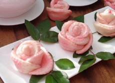cách làm bánh bao hoa hồng 5