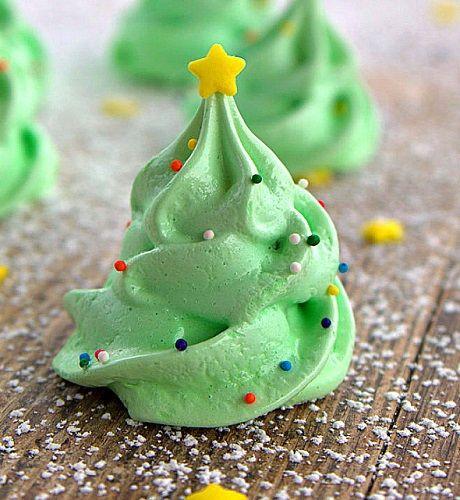 cách làm meringue cây thông 1 cách làm nấm meringue Độc đáo với cách làm nấm meringue trang trí bánh khúc cây tuyệt đẹp don giang sinh voi cach lam meringue cay thong sieu de sieu xinh 1