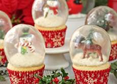 cách làm quả cầu tuyết cupcake 5