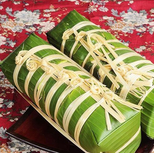 Vào bếp làm bánh tét nhân chuối truyền thống cực dân dã thơm ngon