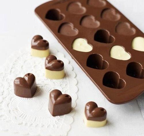 Cách làm socola hình trái tim 5 cách làm socola hình trái tim Làm socola tươi hình trái tim ngọt ngào dành tặng một nửa yêu thương cach lam socola hinh trai tim ngot ngao mua valentine 5