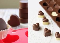 Cách làm socola hình trái tim 9