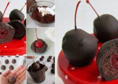 cách làm socola nhân cherry 3