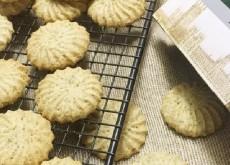 cách làm bánh quy trà đen 5
