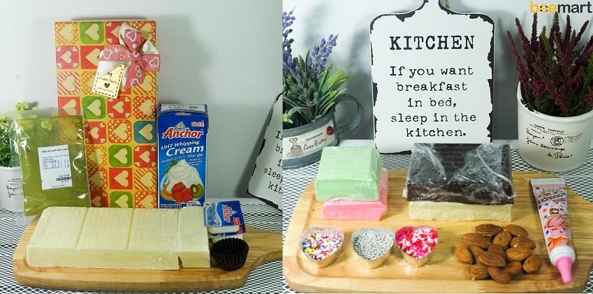 """""""Thả thính"""" mùa Valentine với những bộ Kit Chocolate siêu ngọt ngào"""