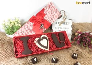 """cách làm socola handmade cách làm socola handmade Hướng dẫn làm socola handmade chữ """"I LOVE U"""" tỏ tình Valentine c  ch l  m socola handmade I LOVE U 300x212"""