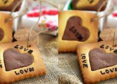 cách làm bánh cookies trái tim 7