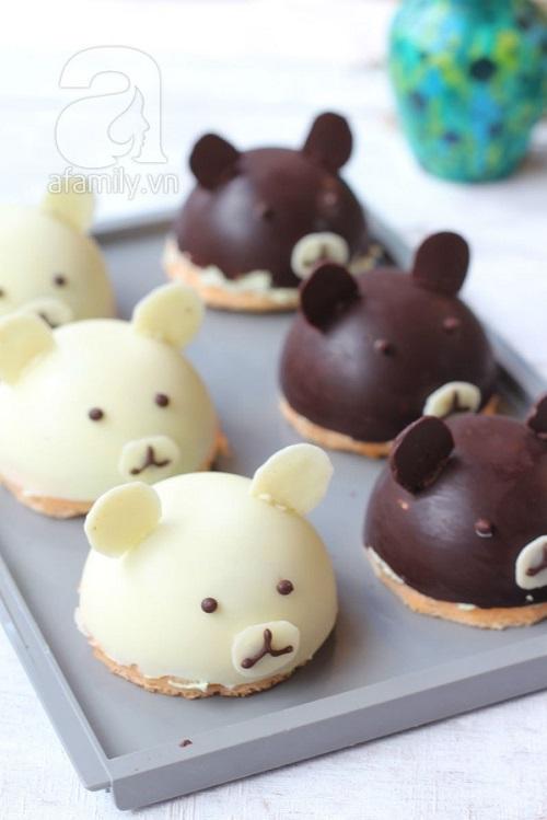Cách làm bánh gấu 5