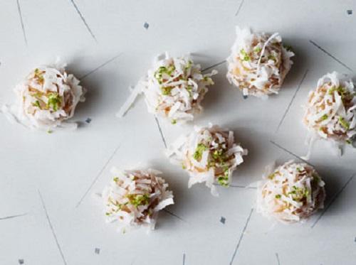 cách làm socola truffle chanh dừa 7