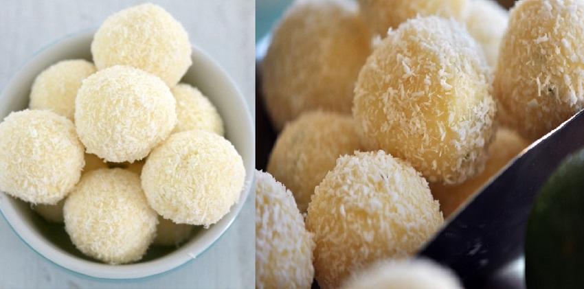 cách làm socola truffle chanh dừa 3 cách làm socola truffle chanh dừa Socola truffle ngọt ngào dành tặng một nửa yêu thương ngày Valentine cach lam socola truffle chanh dua ngot mat tang nguoi ay 6