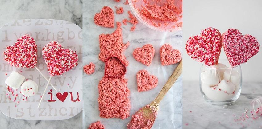 Cách làm trái tim từ bỏng gạo ngọt ngào ngày Valentine