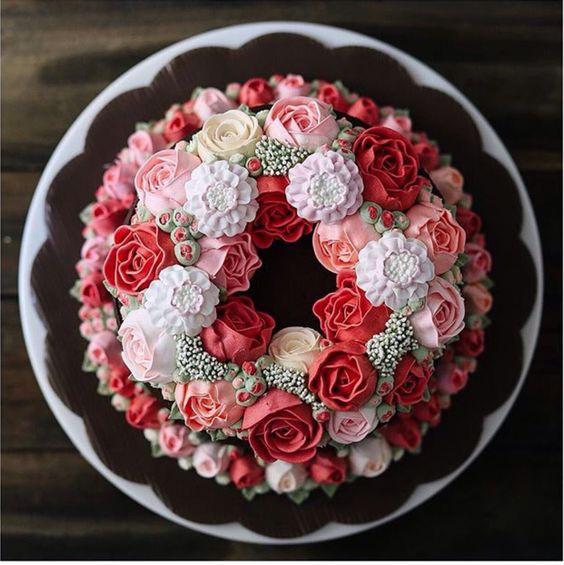 hoa kem bơ hoa kem bơ Khám phá bí mật trang trí hoa kem bơ cùng chuyên gia hoa kem b