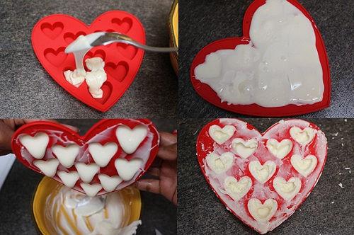 cách làm chocolate nhân siro dâu 3